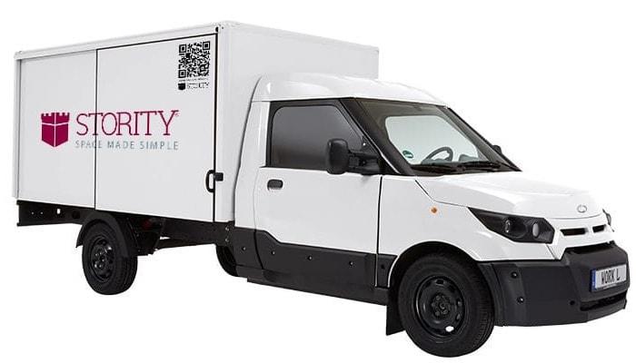 Elektrisches Lieferfahrzeug STORITY