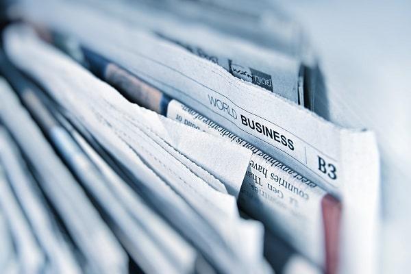 Zeitungen aus der Großstadt